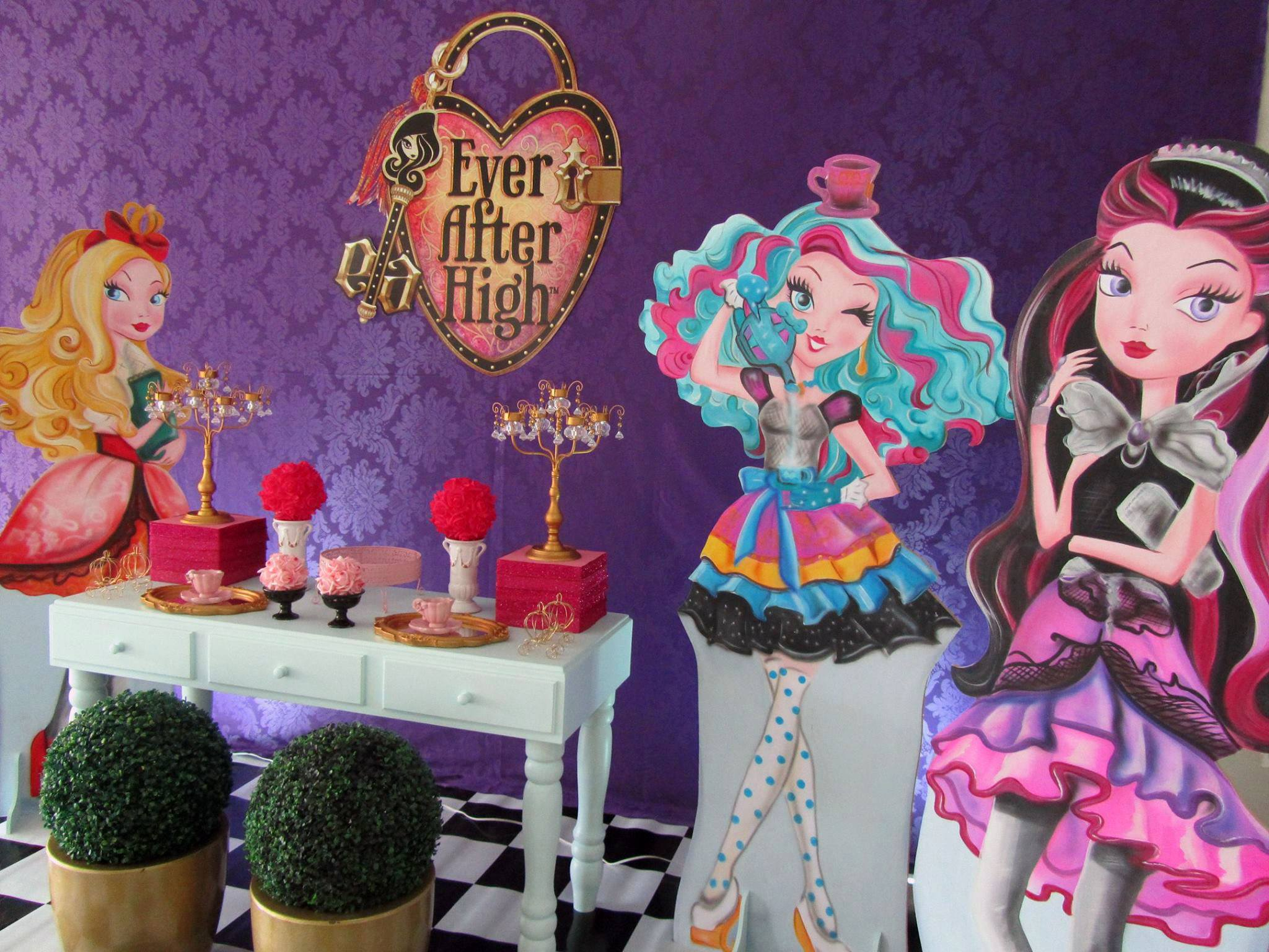 Tema Decorativo Ever After High
