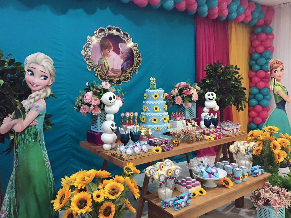 Tema Decorativo Frozen