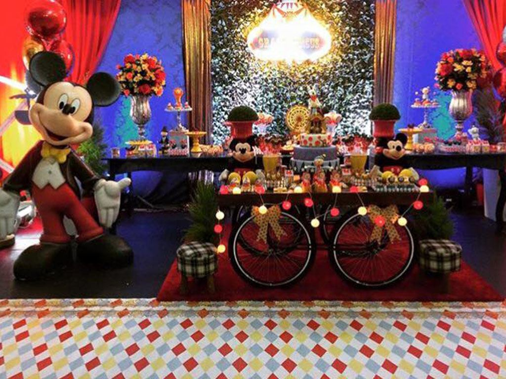 Tema Decorativo Mickey
