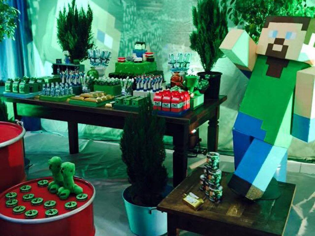 Tema Decorativo Minecraft