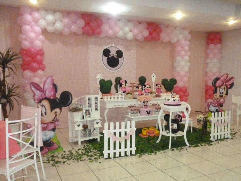 Tema Decorativo Minnie