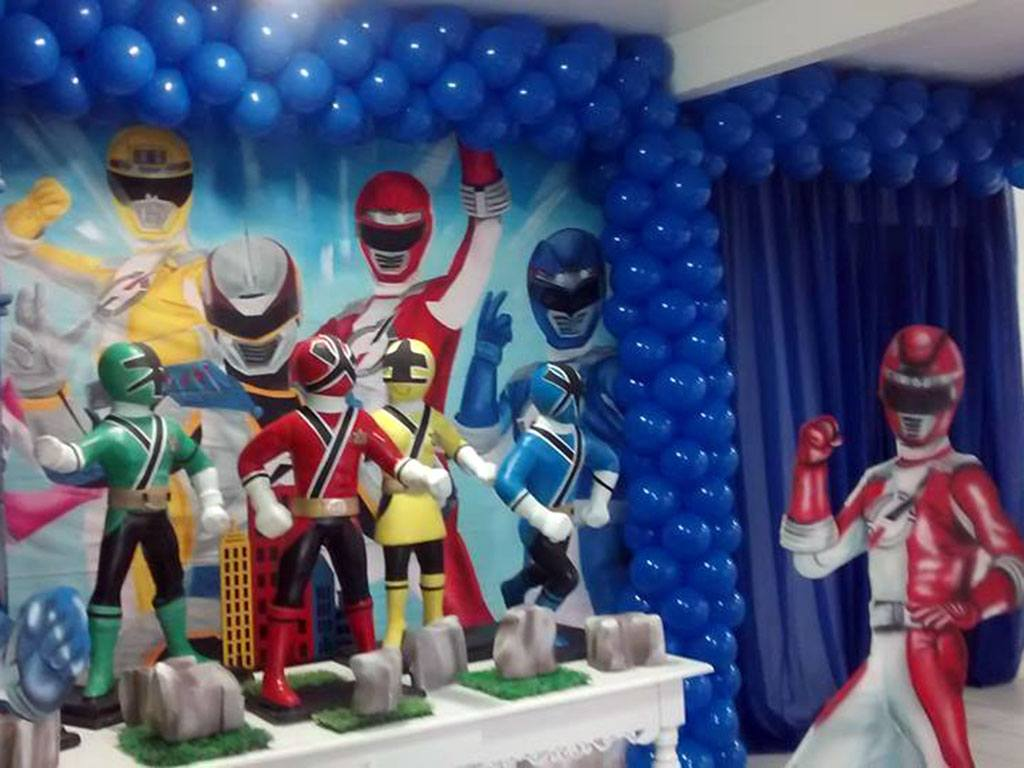 Tema Decorativo Power Rangers