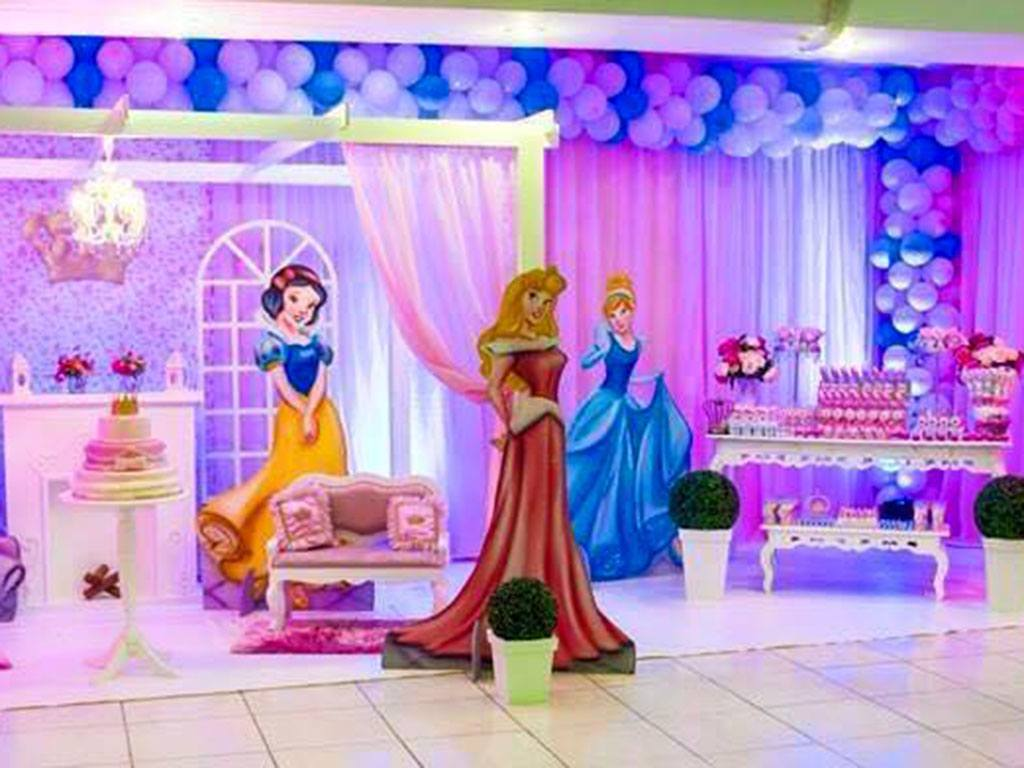 Tema Decorativo Princesa
